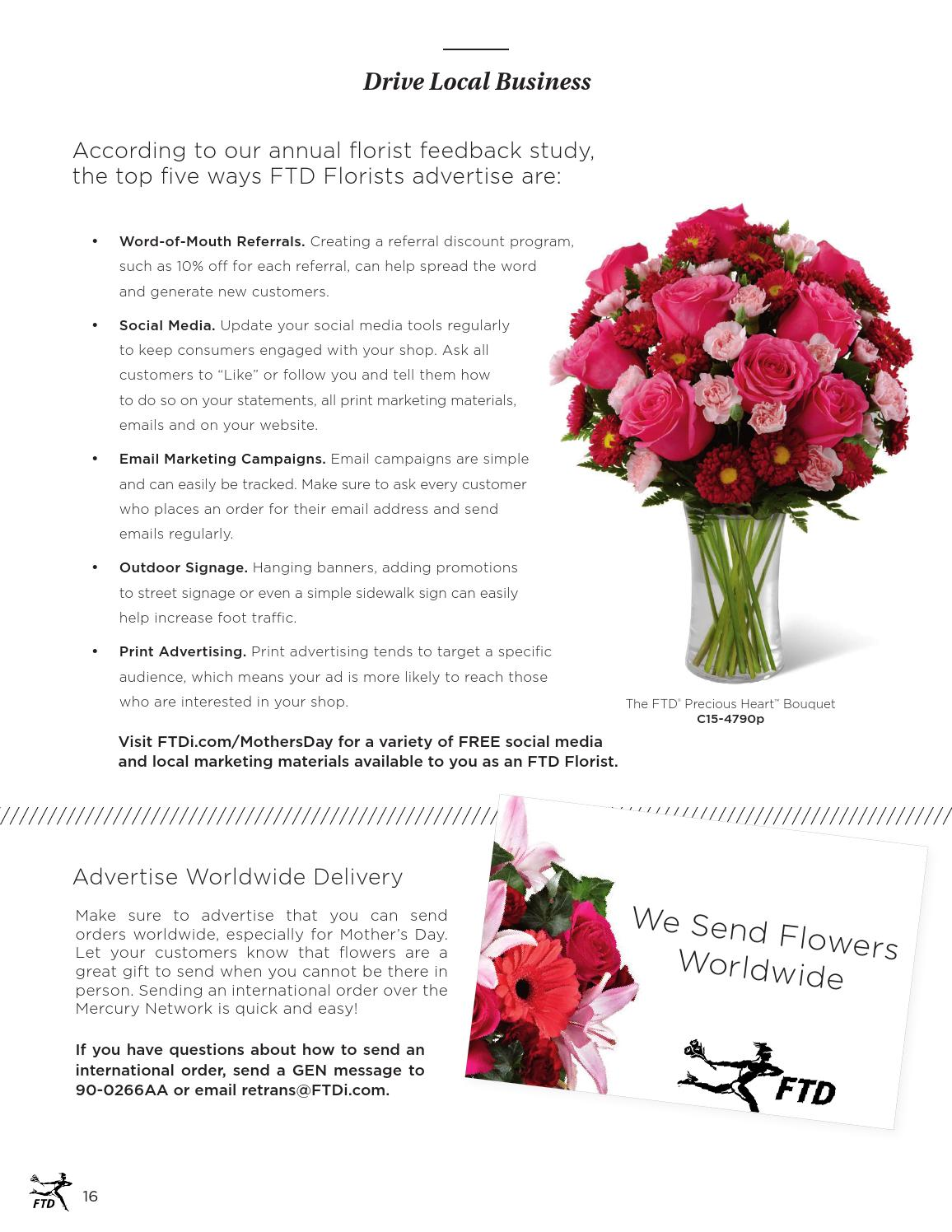 2016 Ftd Mother S Day Planning Guide By Ftdi Issuu