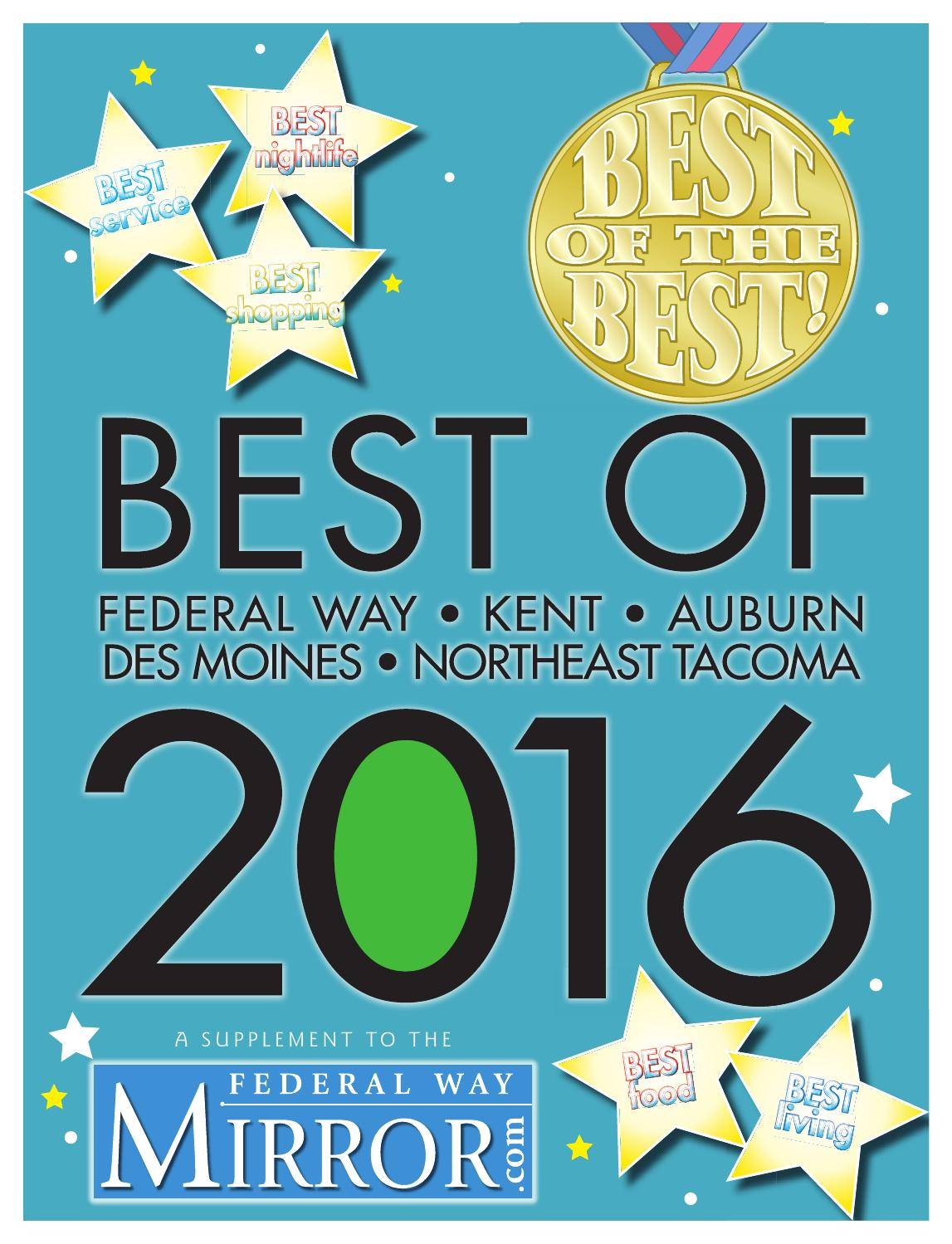 The Best Of... - 2016 Best of Federal Way by Sound Publishing - issuu