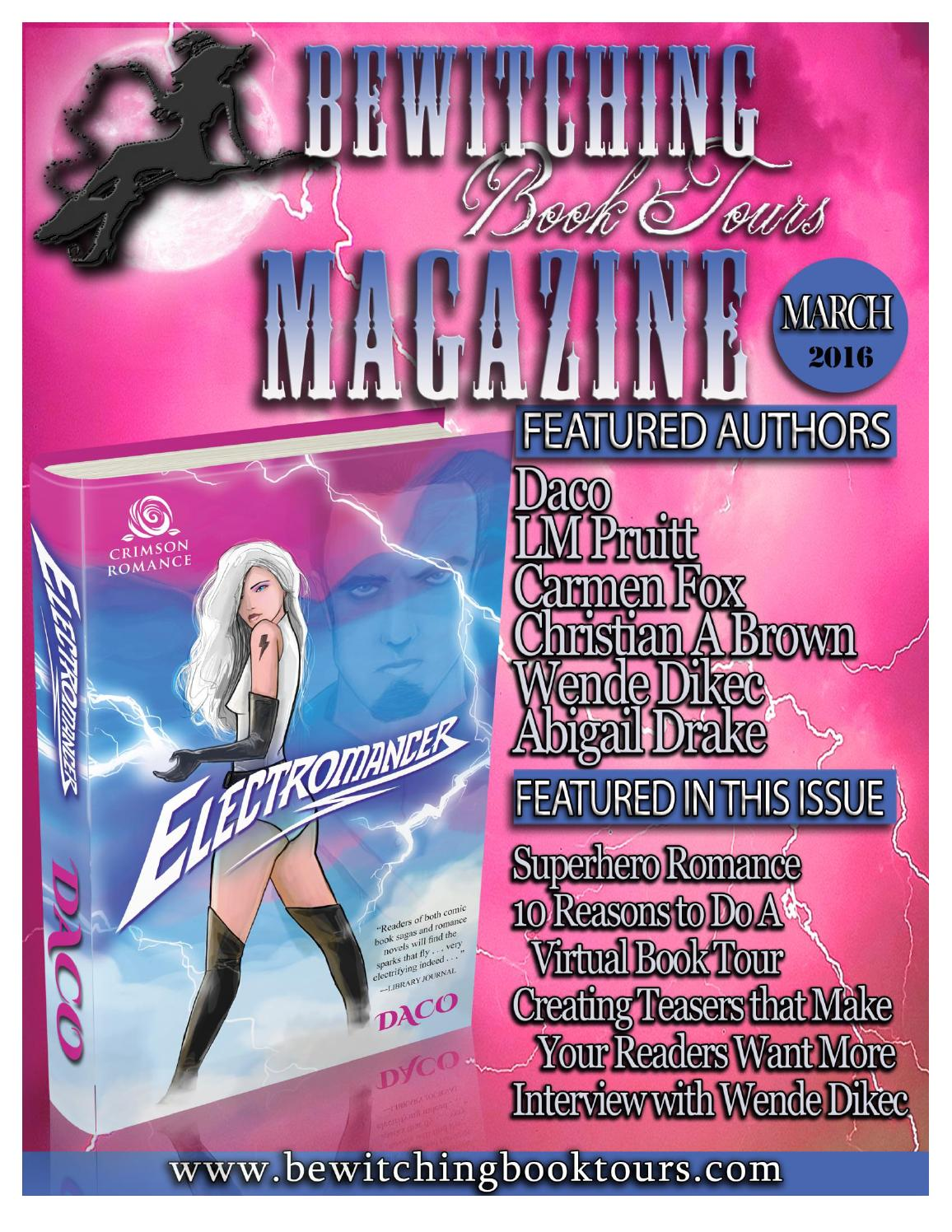 March 2016 Bewitching Book Tours Magazine by Bewitching Book