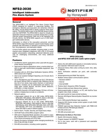 NFS2 3030 by Ingeniería y Seguridad - issuu
