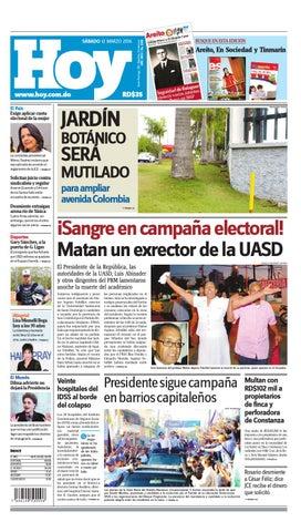 www.hoy.com.do El País Exige aplicar cuota electoral de la mujer 034c7c5397b87