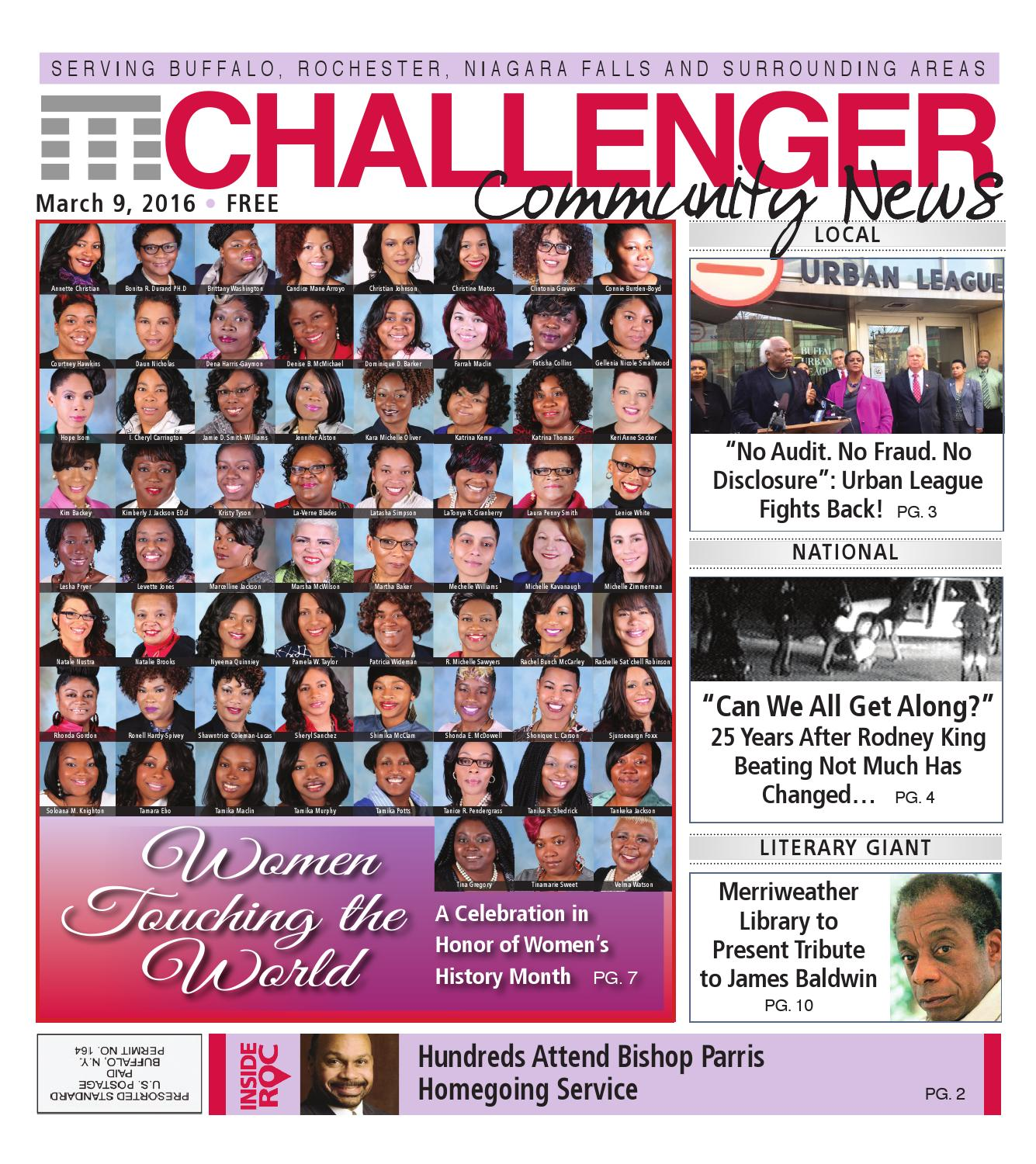Ina Mae Spivey Delightful challenger community news march 9, 2016the challenger