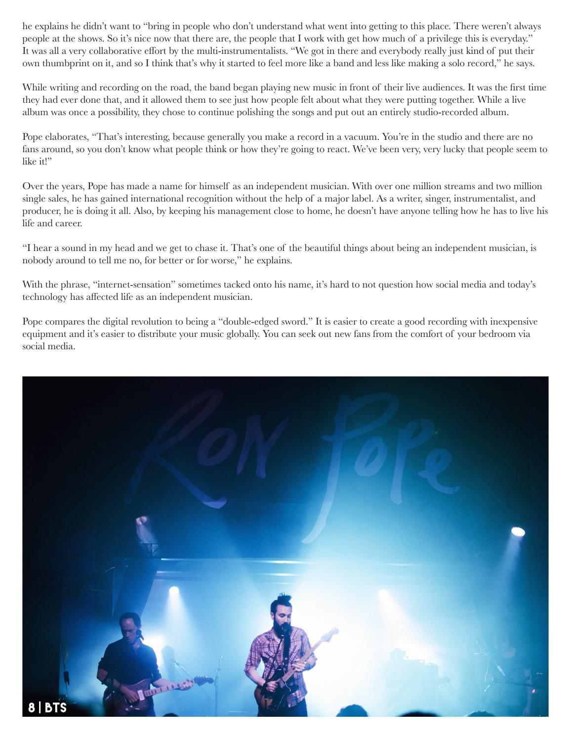 Beyond The Stage Magazine - March 2016 by Beyond the Stage Magazine