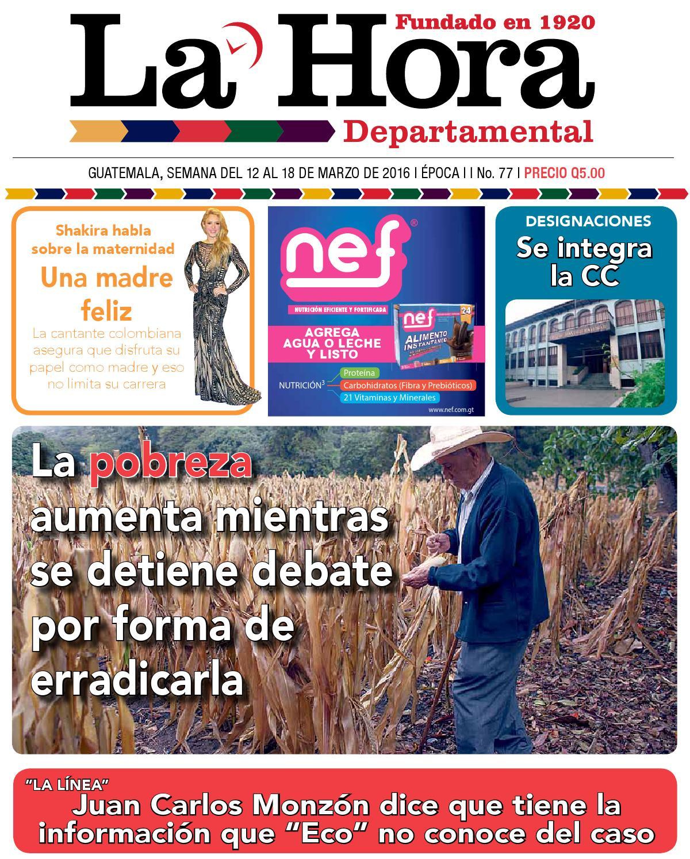 Departamental 12-03-2016 by La Hora - issuu