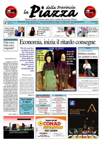 Settembre 2015 - La Piazza Rimini by La Piazza della Provincia - issuu 62cada62068c