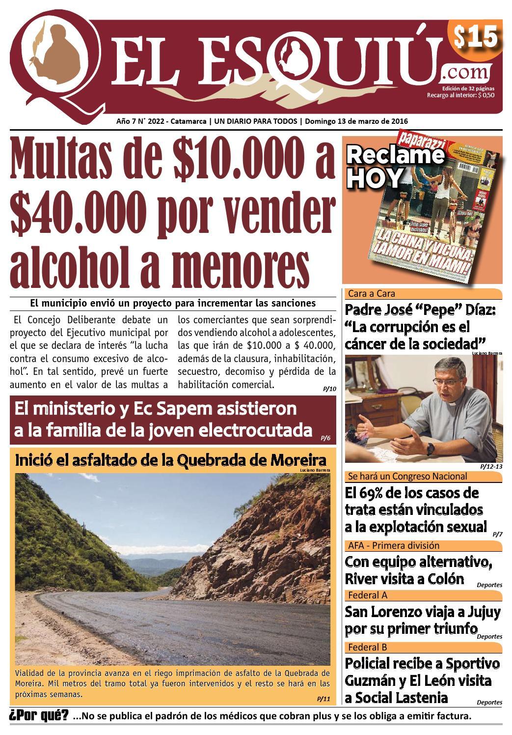 El Esquiu Com Domingo 13 De Marzo De 2016 By Editorial El Esqui  # Muebles Yoma Antofagasta