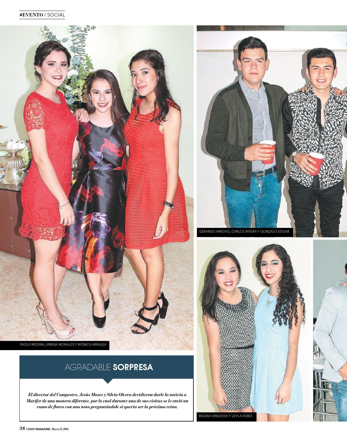 Imagenes De Silvia Olvera chic magazine tamaulipas, núm. 393, 13/mar/2016chic