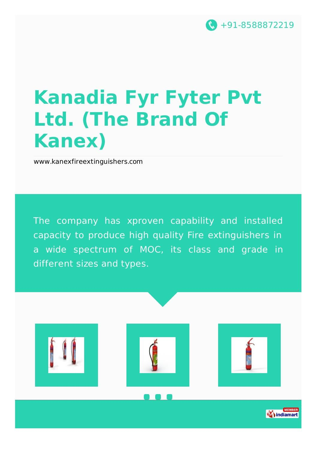 Kanadia fyr fyter pvt ltd the brand of kanex by kanexfire - issuu