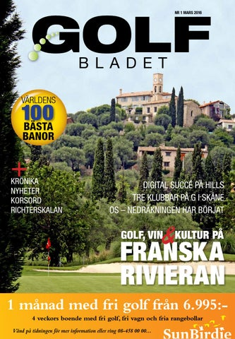los angeles 6559e 393d2 Golfbladet 2016 1 by Fredrik Richter - issuu