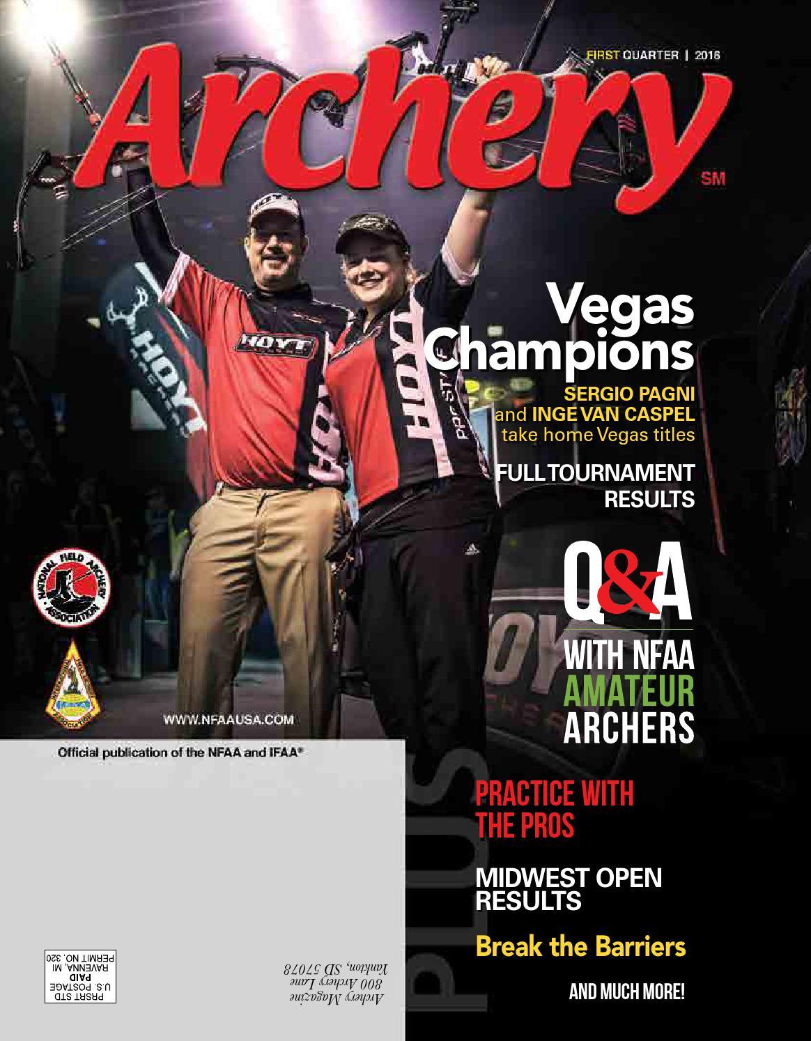2016-First Quarter by National Field Archery Association - issuu