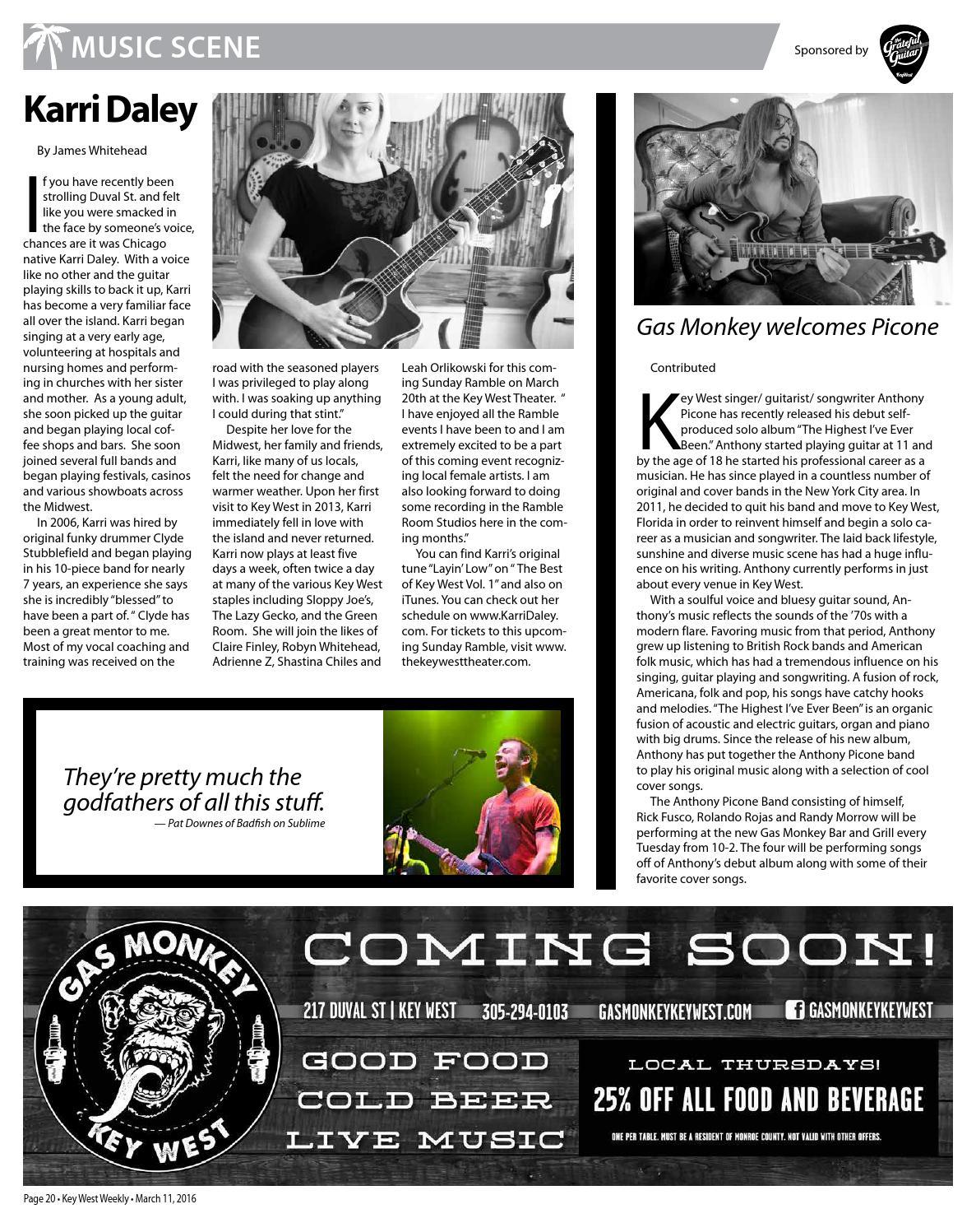 0311 16 key west weekly by Keys Weekly Newspapers - issuu