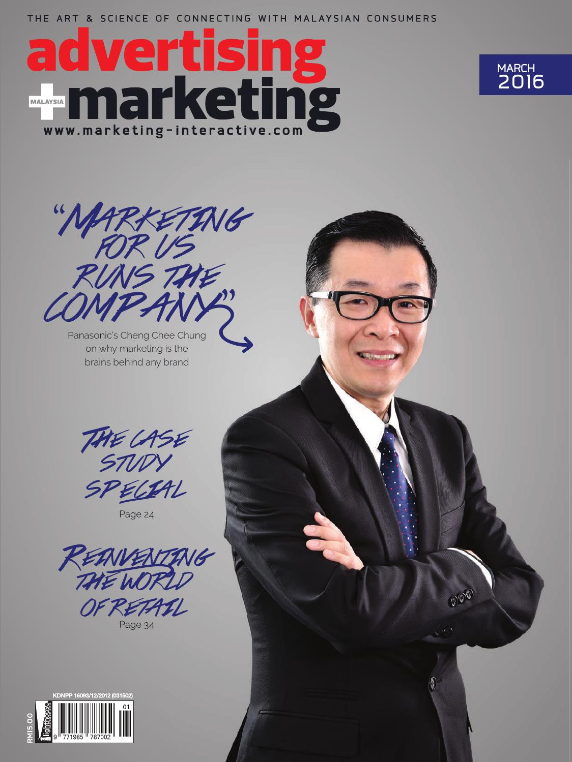 Advertising + Marketing MY - Mar 2016 by Marketing Magazine Group ...