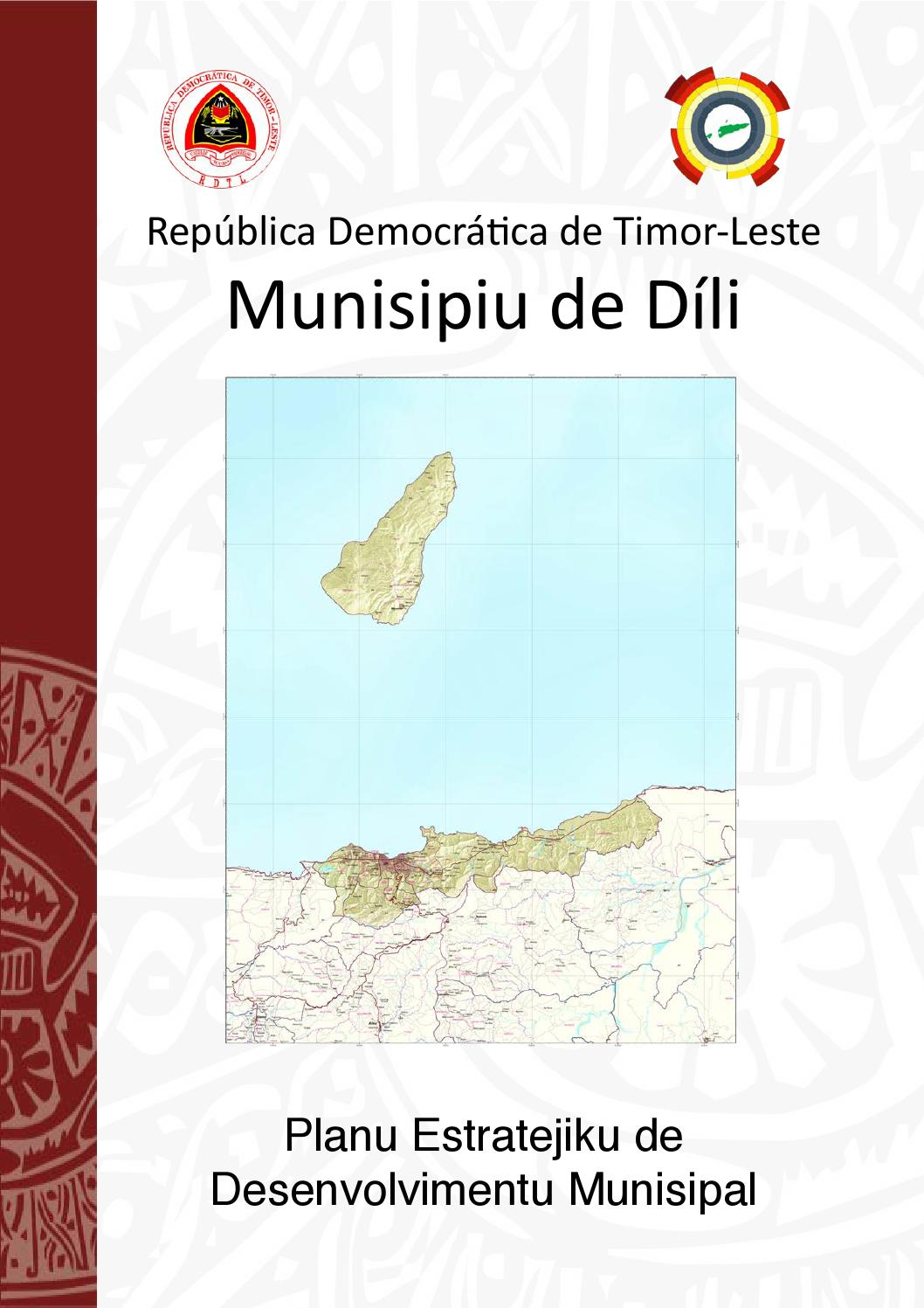 Aeroporto Dili : Pedm díli by desentralizasaun issuu