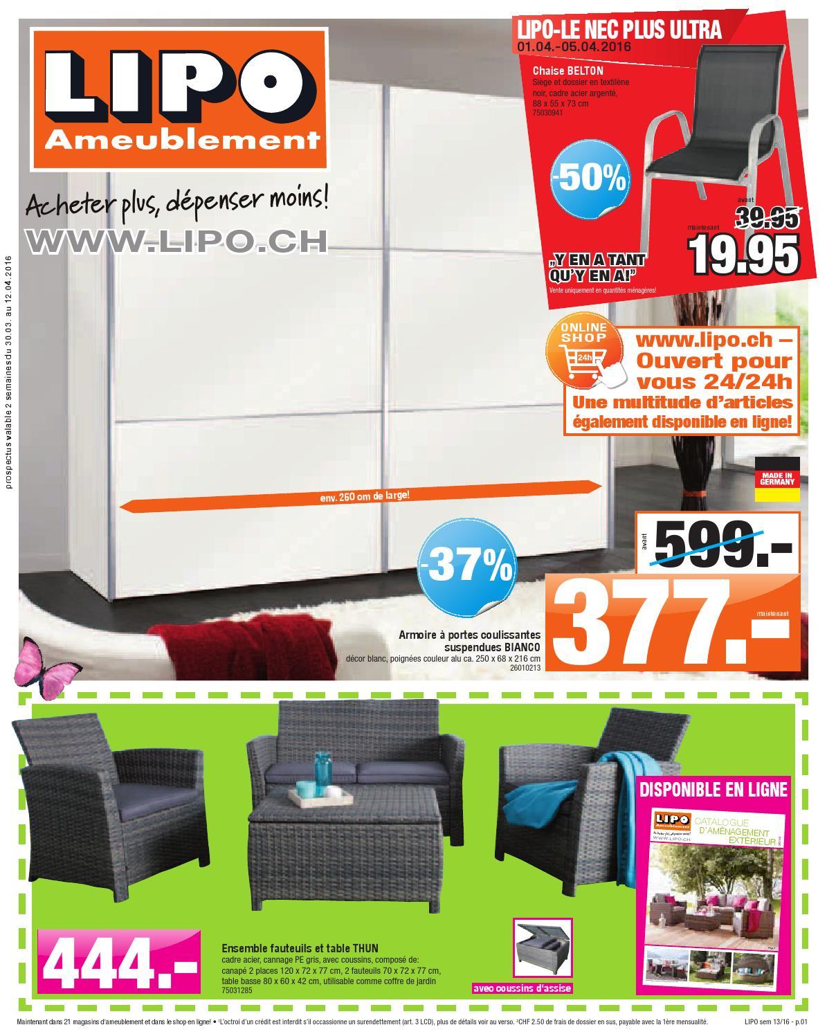 Lipo brochure kw13 by sitesmedia issuu for Lipo schreibtisch