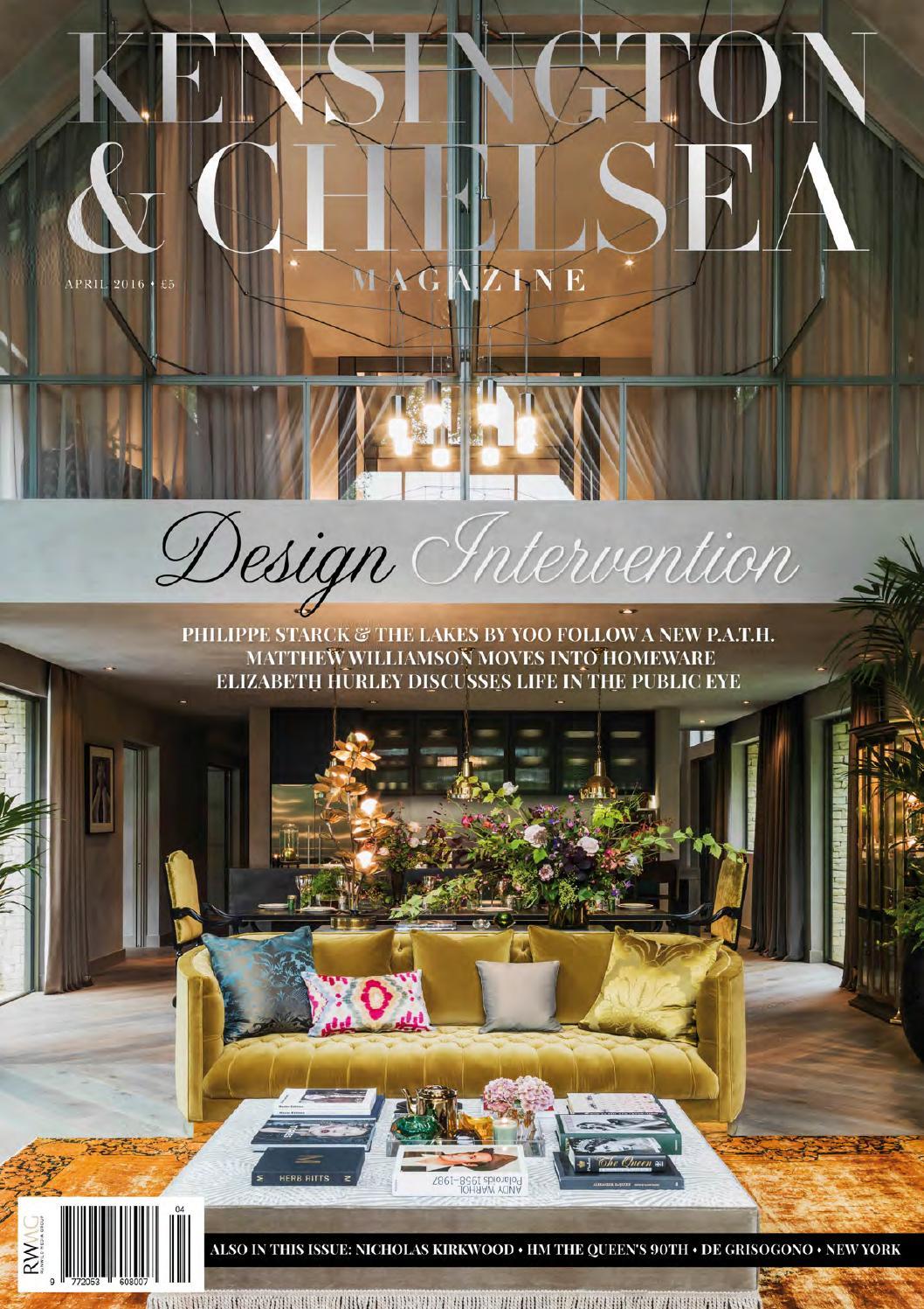 The Kensington   Chelsea Magazine April 2016 by Runwild Media Group ... 20f7eb32e68