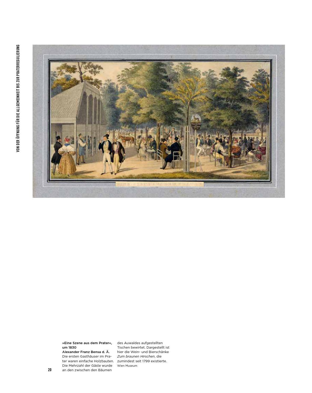 """Wien Museum Katalog """"In den Prater! Wiener Vergnügungen seit 1766 ..."""