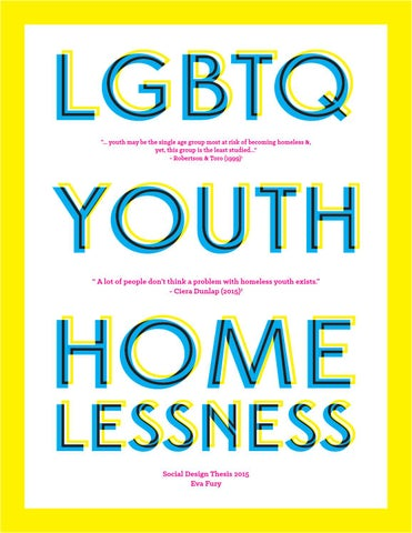 Lgbtq Youth Homelessness Eva Fury Masd 15 By Mica Center For Social Design Issuu