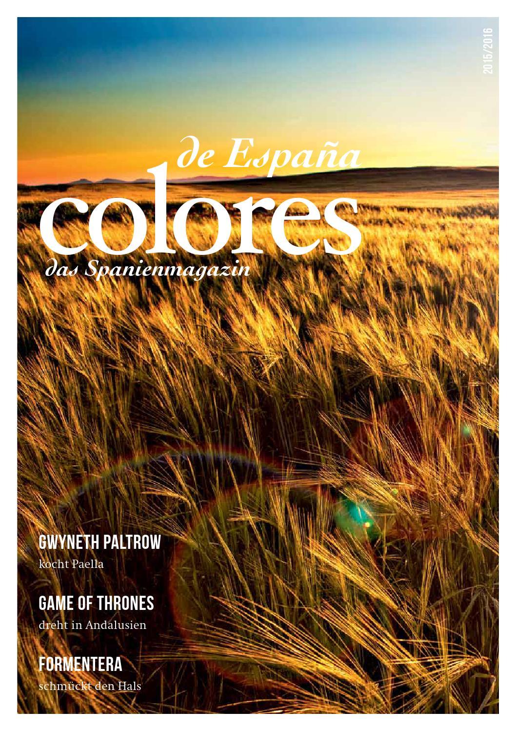 Colores De España 2016 By Neusta Grafenstein Gmbh Issuu