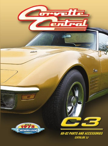 Corvette Central C3 (68-82) Corvette Parts Catalog by Corvette