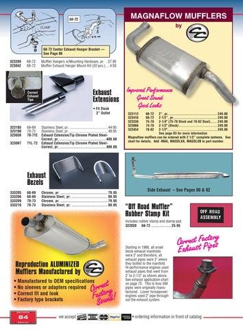 Corvette Central C3 (68-82) Corvette Parts Catalog by