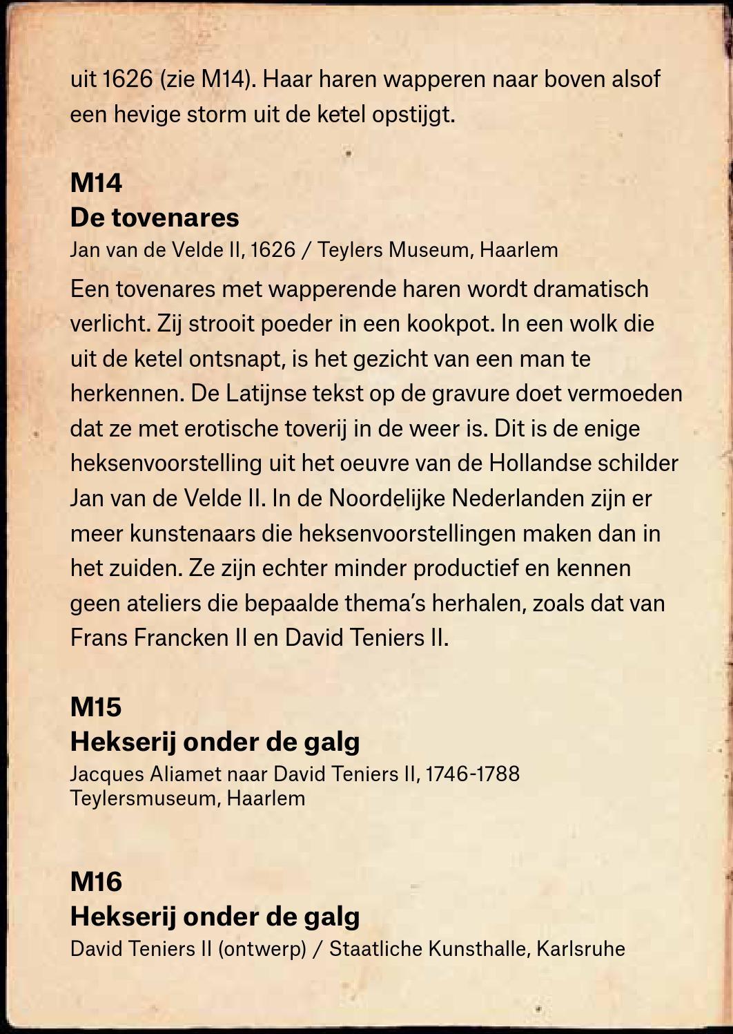 Heks Op Bezem Storm.Bezoekersinformatie De Heksen Van Bruegel By Musea Brugge