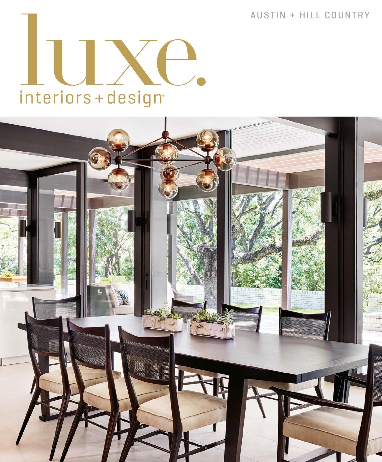 Luxe Magazine March 2016 Austin By Sandow Media LLC