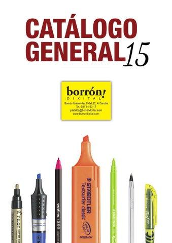 cdf416f30a8 1 catalogo general 2015 by Borrón Dixital - issuu
