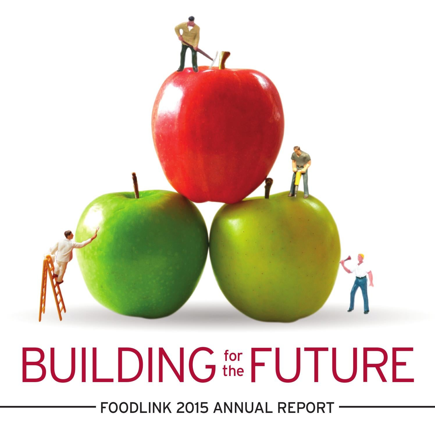 Building for the Future  Foodlink 2015 Annual Report by FoodlinkNY ... c5bb43673af