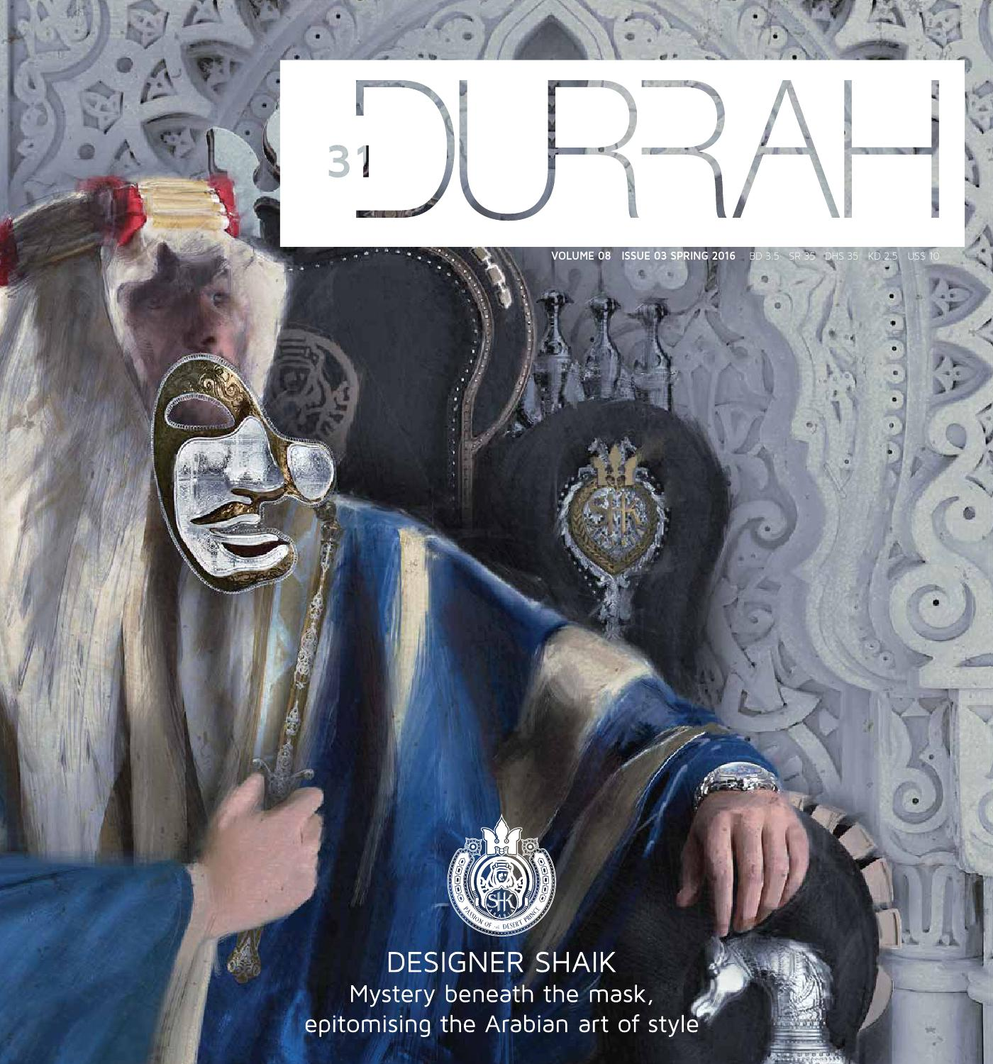 Durrah Issue 31 By Luxury Issuu Manzone Statement Pants Grey Abu