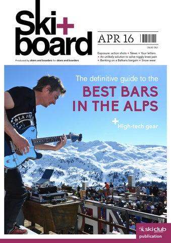 Ski+board April 2016