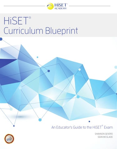 Tasc test curriculum blueprint by essential education issuu cover of hiset curriculum blueprint malvernweather Images