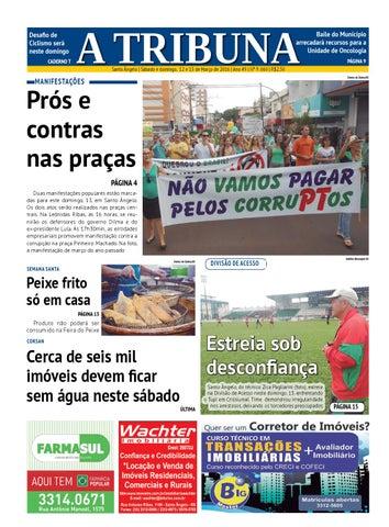 12b4e818dfd Jornal A Tribuna 12 e 13 de março de 2016 by Jornal A Tribuna ...