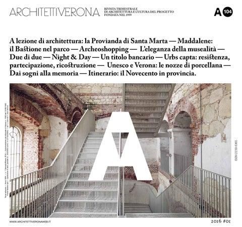 Architettiverona 104 By Architettiverona Issuu