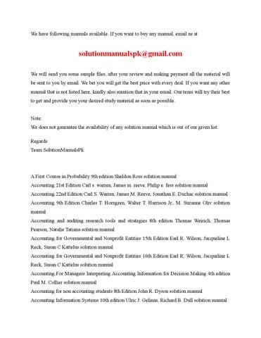 list by solutionmanualspk issuu rh issuu com