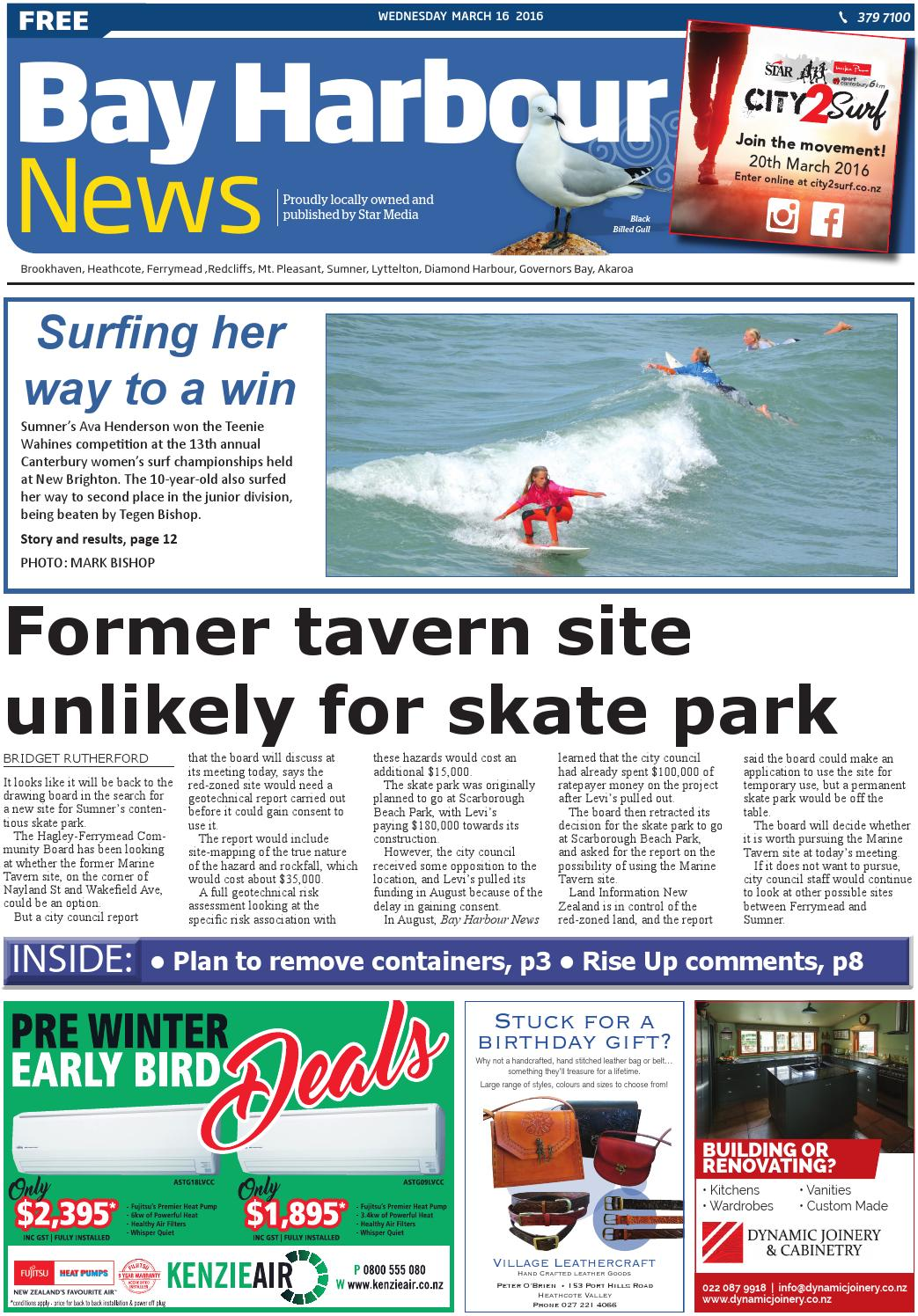 Bay Harbour News 16-03-16 by Local Newspapers - issuu