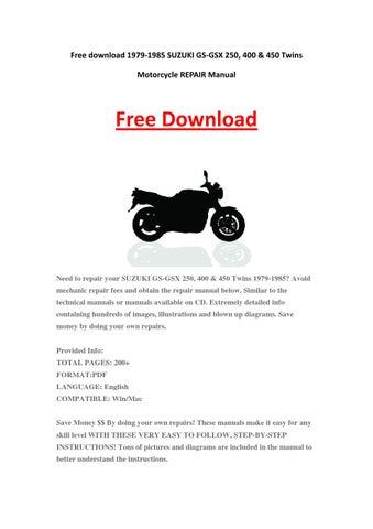 1981-1983 dr500 sp500 suzuki motorcycle printed service manual.