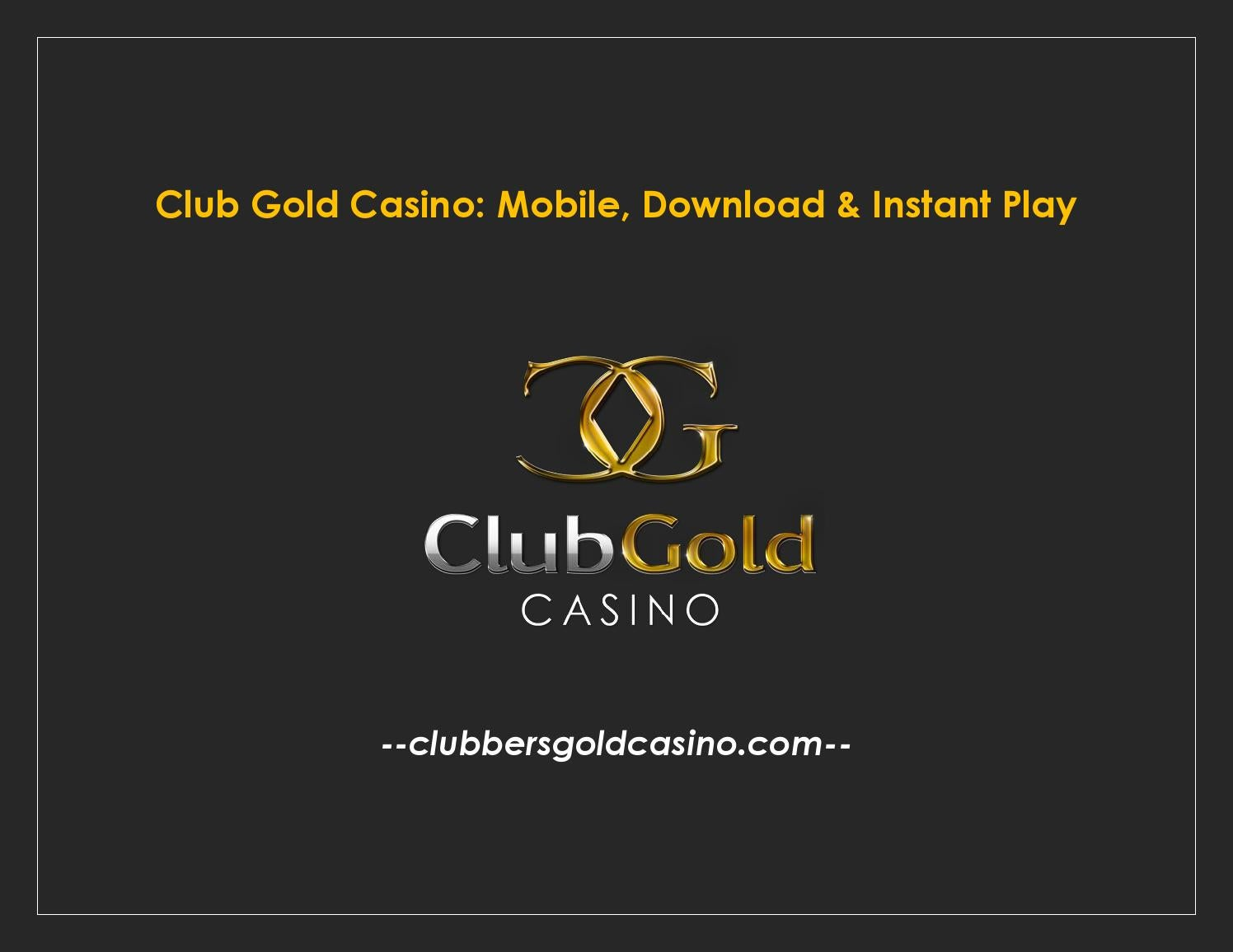Club Gold Casino Mobile