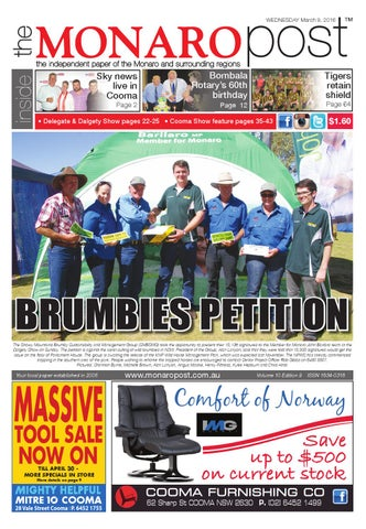 The Monaro Post -March 9,2016 by Monaro Post - issuu