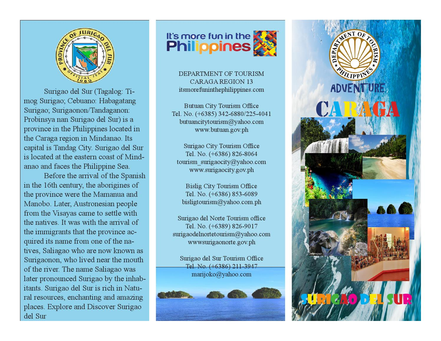Mj Surigao Del Sur Brochure By Rj Danger Issuu