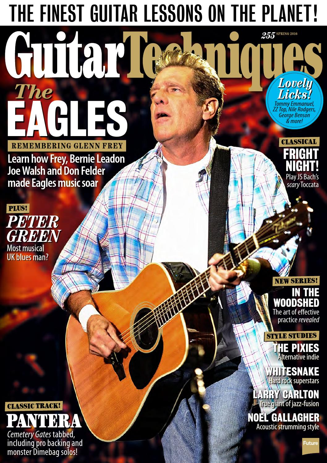 May 2007 Guitar Techniques magazine /& CD