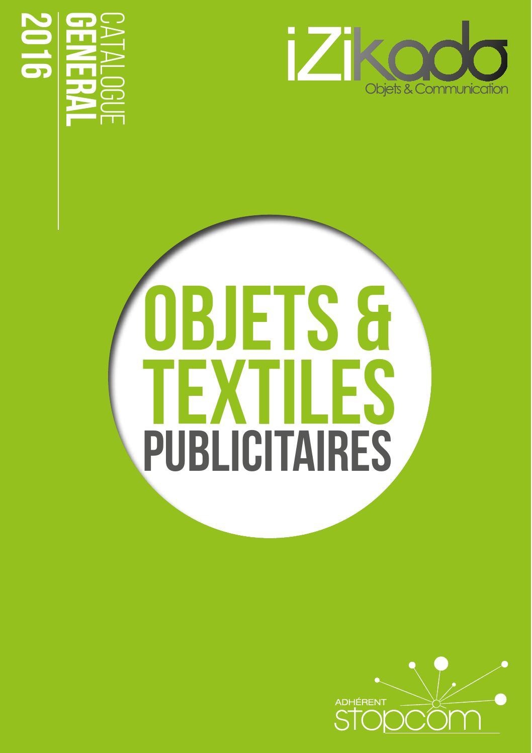 8ca6848cf984 Catalogue og7 izikado by Objectif Goodies - issuu