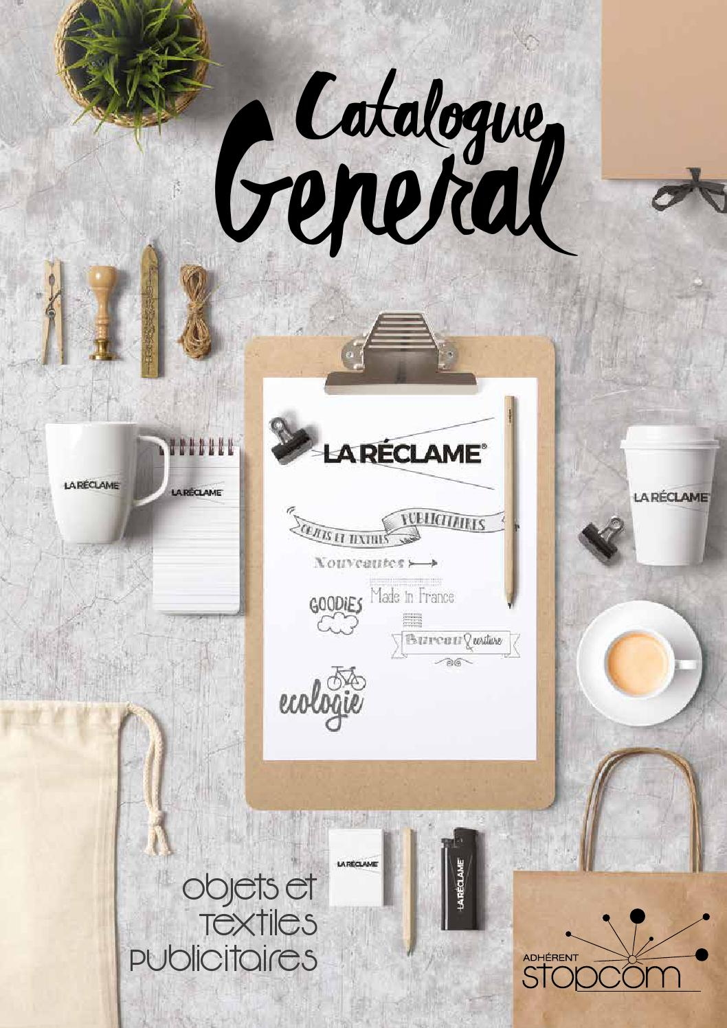 Catalogue og7 la reclame by Objectif Goodies - issuu 767f2c103a7