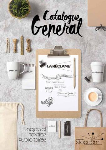 Catalogue og7 la reclame by Objectif Goodies - issuu 9fa4351e6c6f