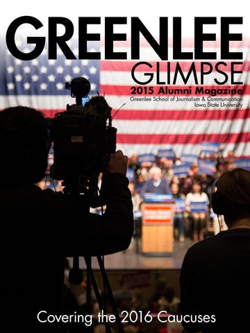 6827a7668 2015 Greenlee Glimpse by Greenlee School of Journalism and ...