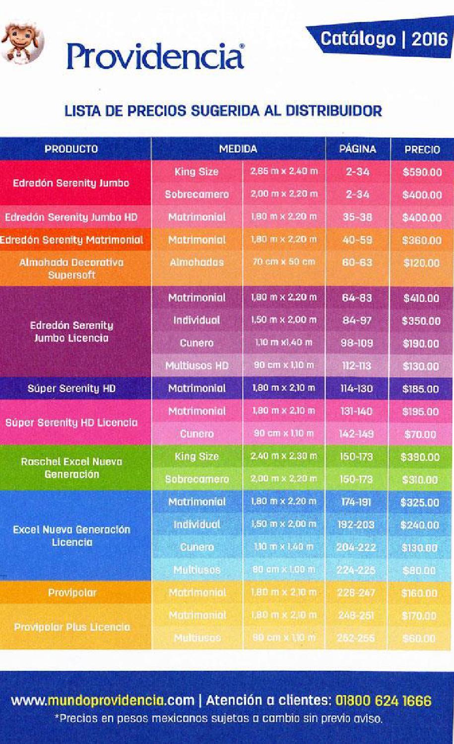 Precios catalogo cobertores providencia marzo 15 2016 by for Catalogos sofas precios