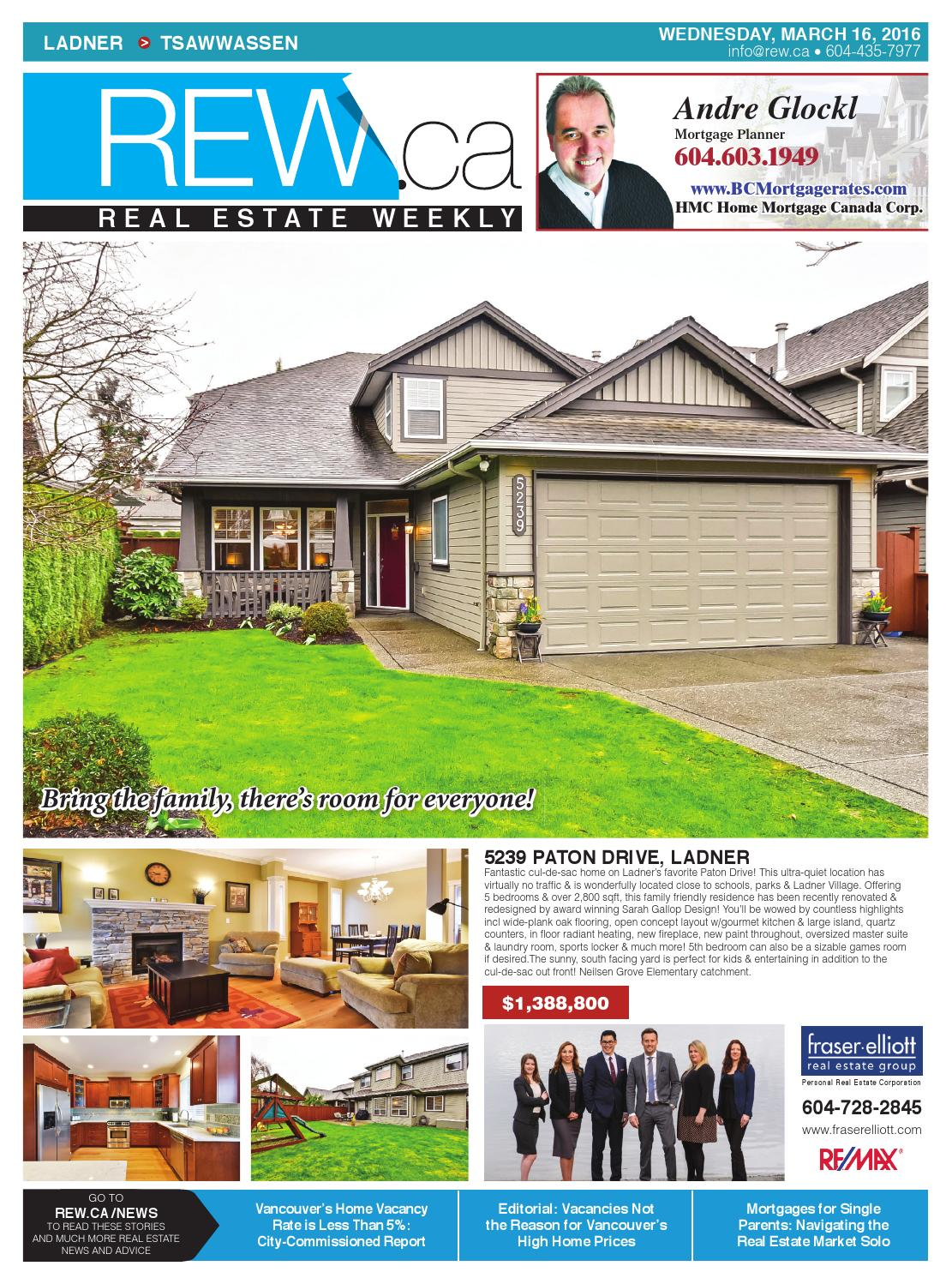 realtor and interior designer debbie evans realtor interior design consultant remax west LADNER - TSAWWASSEN Mar 16, 2016 Real Estate Weekly by Real Estate Weekly -  issuu