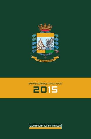 Guardia di finanza dell Emilia-Romagna - Report annuale 2015 by ... 9424b31d9c56