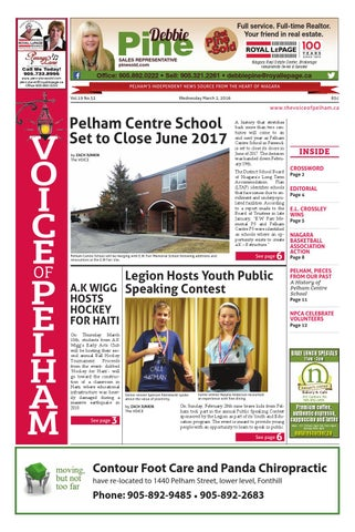 The Voice of Pelham March 2, 2016