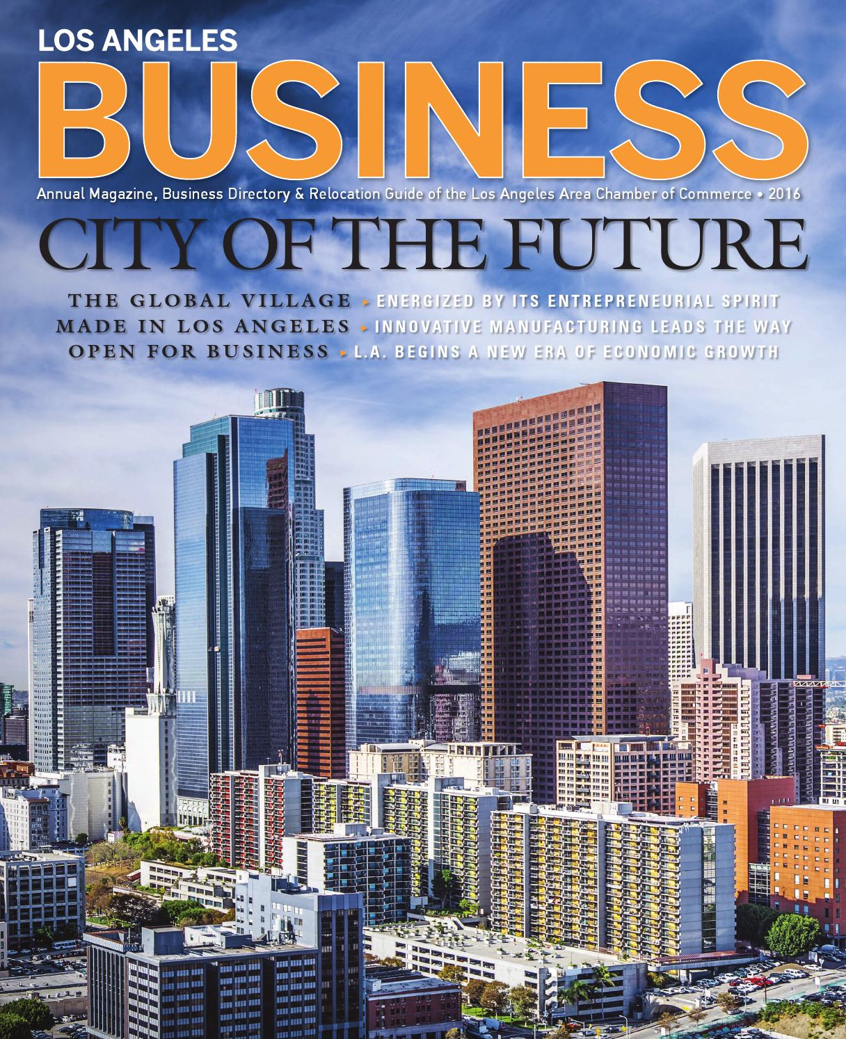 6df20db23576 LA Business Magazine 2016 by Chamber Marketing Partners
