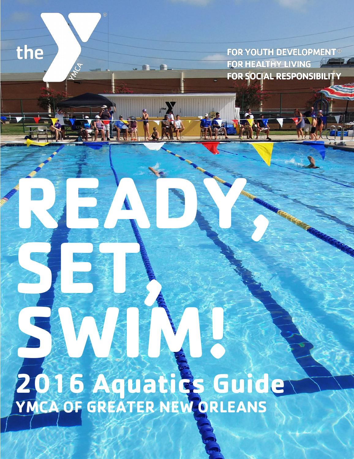 2016 ymca of greater new orleans aquatics guide by amanda spillman